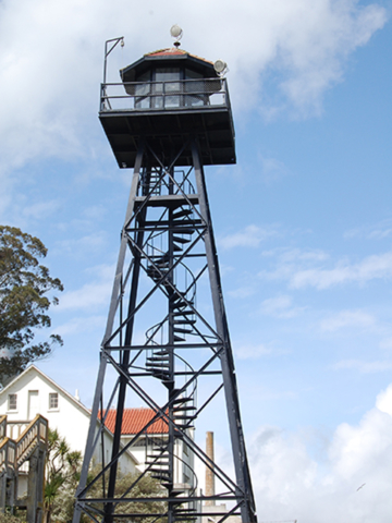 Alcatraz watch tower