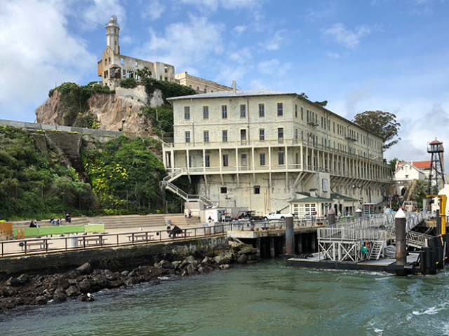 Leaving Alcatraz