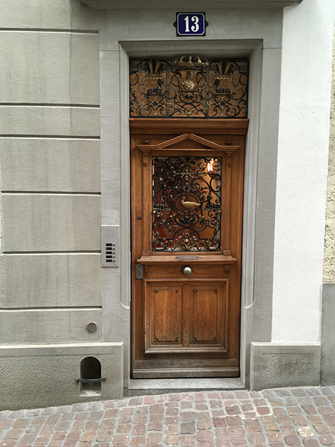 Door in Zürich 2018