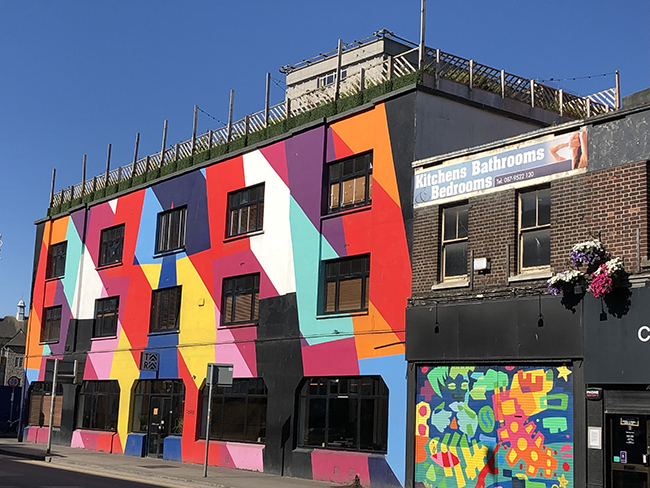colourful building