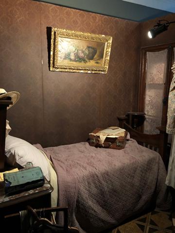 James Joyce's bedroom