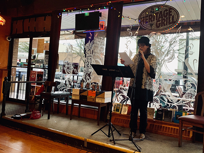 Reading at Poetic Justice