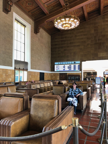 Los Angeles grand central station