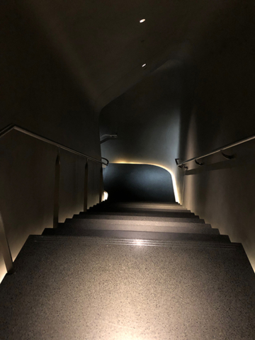 The Broad gallery staircase