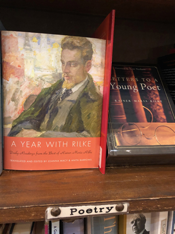 A book of Rilke's poetry