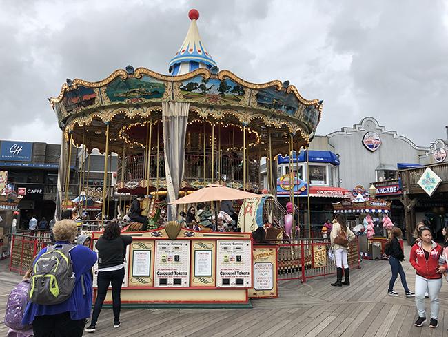 Fishermans Wharf carousel