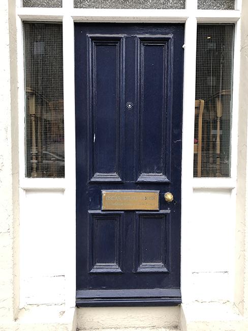 Home of Oscar Wilde
