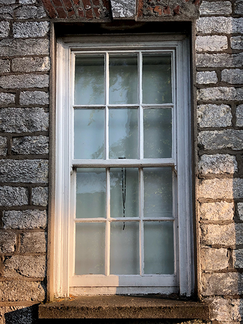window, Corsham 2019