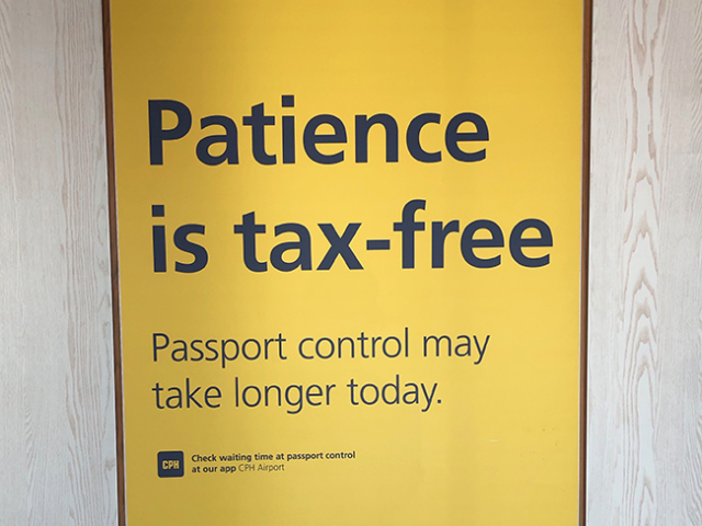 sign: patience is tax-free