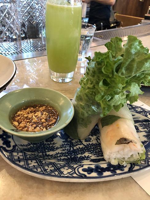 Sài Gòn - fresh roll